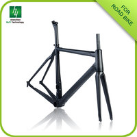 Lowest price for road bike carbon frame china HQR01,carbon road bike frame brake,Good carbon fiber bike frame