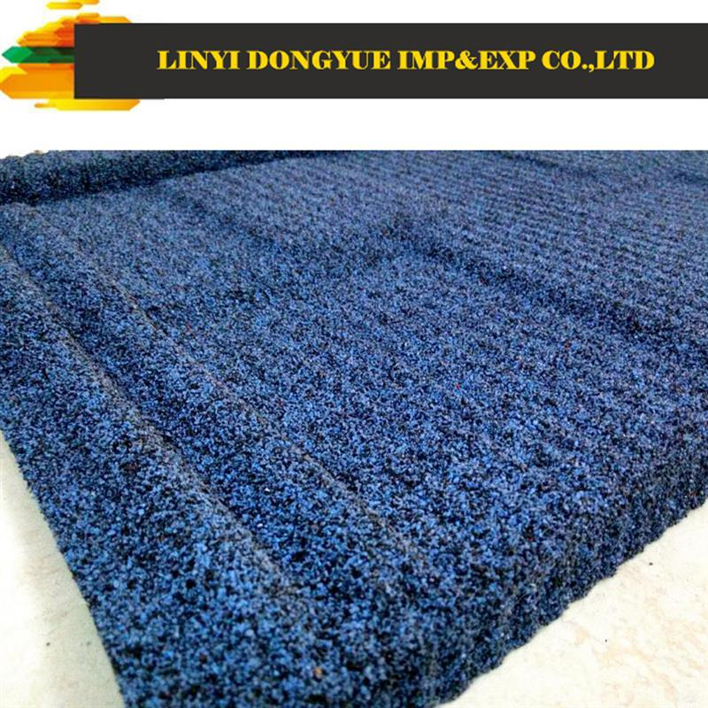 high quality steel roofing 3 tab harbor blue asphalt shingle
