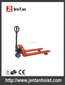 Hand pallet truck with red pu