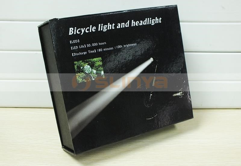 Factory Wholesale Rechargeable CREE LED Bike Headlight