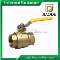 Free Sample made in China 1 2 0.5 1/2 1/8 inch npt threaded red handle of copper laiton and brass ball valve price list