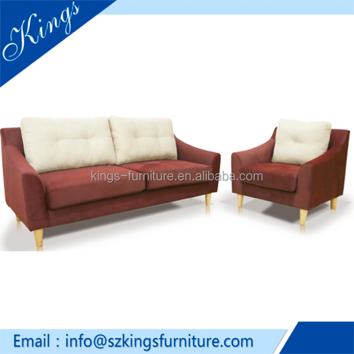 S1712 Modern Style Hot Sale Classic Furniture/ Cloth Sofa Set