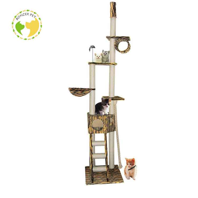 E-00017 Scratching Post Cat Tree Rope