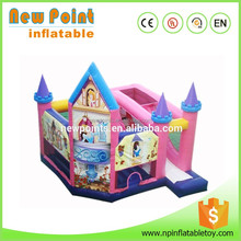 2016 new style Big sale giant inflatable bouncy princess castle