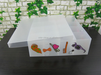Useful plastic storage box for clothes