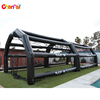 Costom size outdoor inflatable sport cage inflatable baseball batting cage
