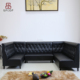 (SP-KS369) Modern Design Leather Sectional Home Sofa L Shape Recliner Sofa