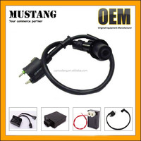 Racing Ignition Coil + Spark Plug + CDI GY6 50cc - 125cc 150cc Scooter ATV Moped