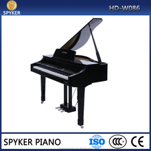 Digital Piano Factory 88 keys Touch Hammer Keyboard MIDI Black Polish Digital Grand Piano HUANGMA HD-W086