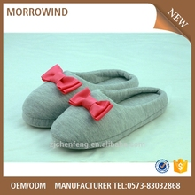 ladies comfortable cotton slipper indoor shoes