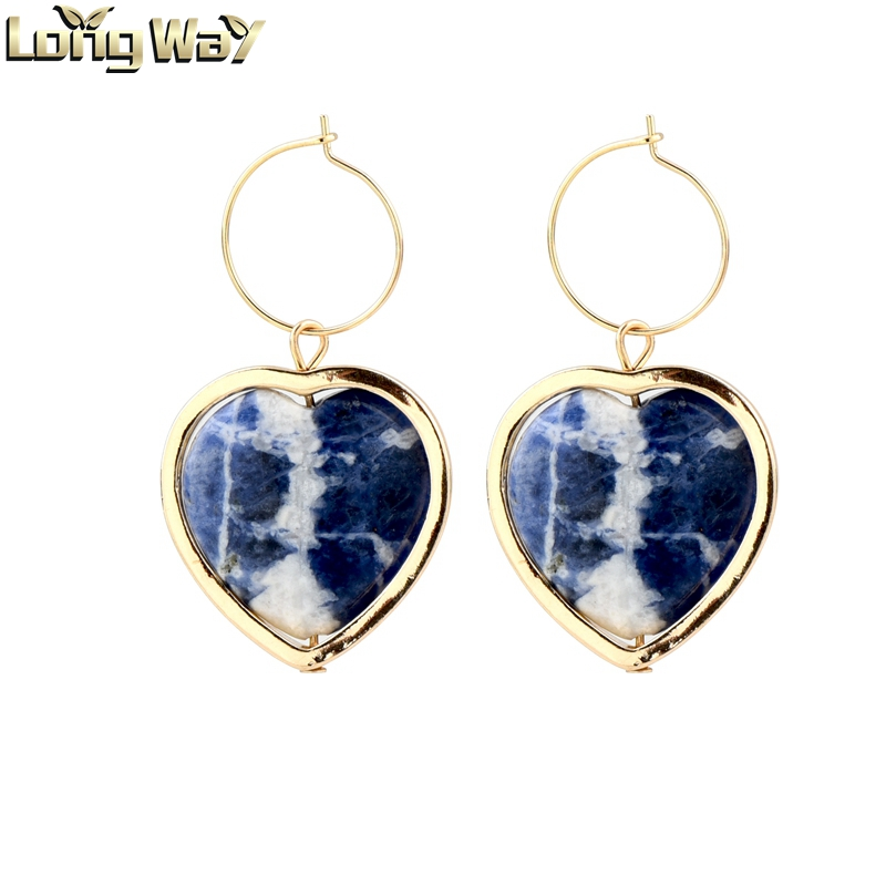 Heart design <strong>earrings</strong> ,stone heart <strong>earrings</strong> ,womens heart <strong>earrings</strong>