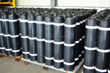 1.0mm modified bitumen self adhesive roofs membrane rolls for waterproofing