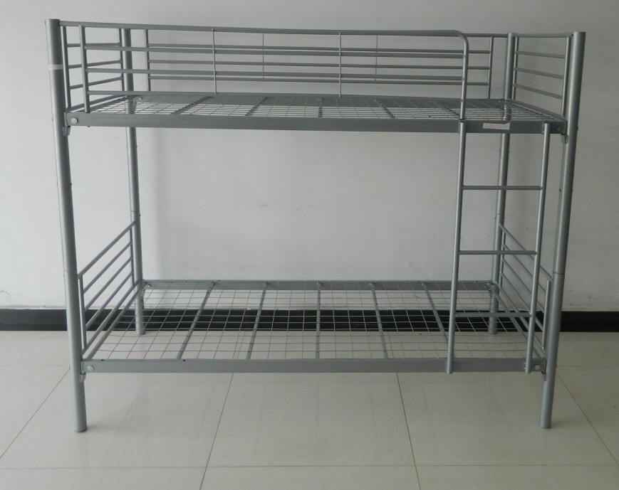 School used kids metal loft bunk beds for sale