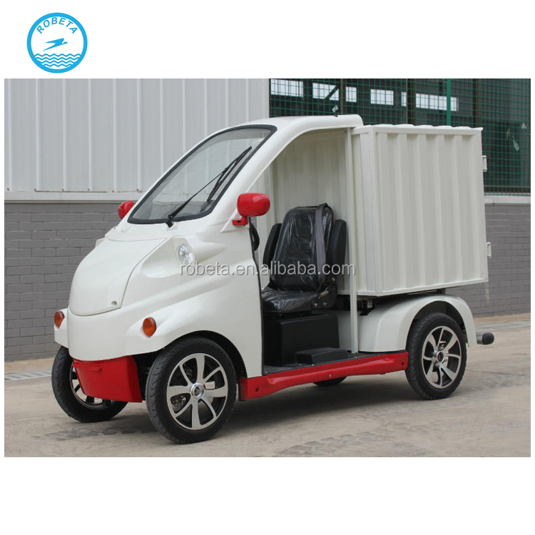 customized easy operating street utility 4x4 electric car with cargo