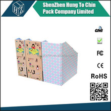 Wholesale retailer hot saling recyclable colorful printing decorative paper storage box