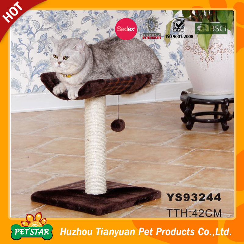 Pet Toys Type And Eco-Friendly Feature Scratch Cat Tree House