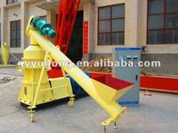 HOT !! Yugong brand wood sawdust briquette machine popular in INDIA