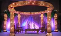 2016 new wedding stage decoration wholesale china / wedding stage backdrop decoration / mandap
