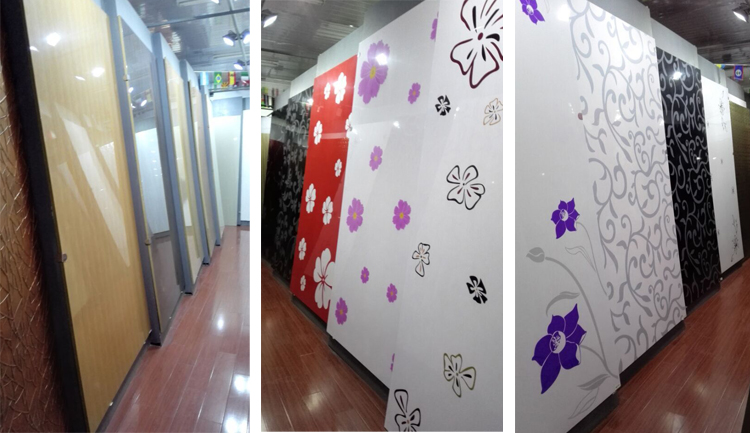 uv coating machine board/ acrylic sheet Panel / synchronized mdf laminate board