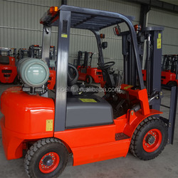 gasoline/lpg nissan engine forklift truck 3tons capacity for sale