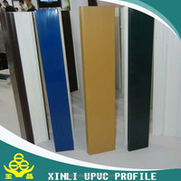 UPVC Color Window Profile Color Plastic