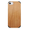 Universal PC corner protective bottom wooden phone case cover for iPhone 6&7