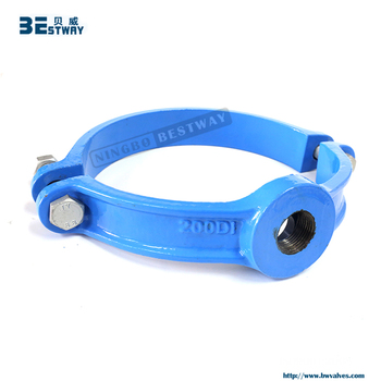 BWVA Short delivery date top quality pipe saddle clamp