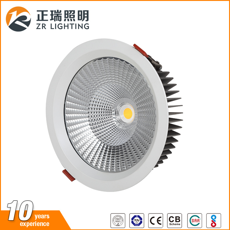 wholesale Indoor ceiling COB recessed Dimmable 12W 20W 35W rectangular commercial ultra thin led downlight