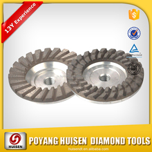 Huisen Turbo Diamond grinding cup wheel , diamond grinding wheel for concrete,marble
