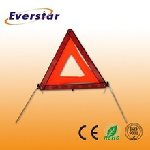 Great Design Cheap Pmma+Abs+Pvc Ce Foldable Traffic Car Triangle Warning Sign