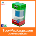 OEM high quality Soft Crease plastic Clear box packaging
