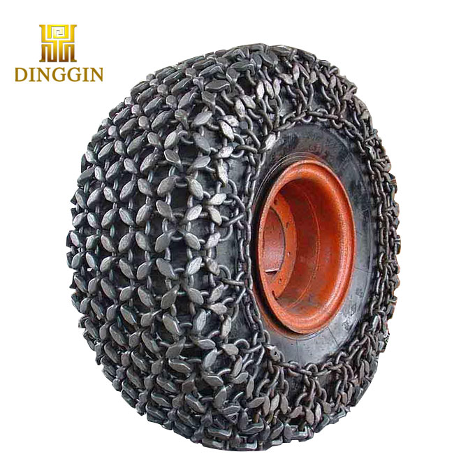 cat wheel loader tyre chains