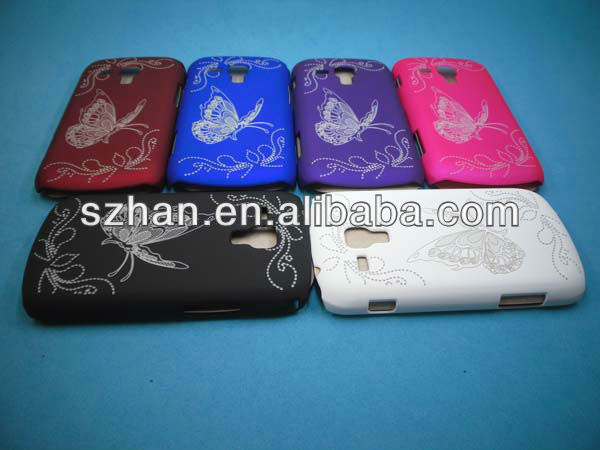 New Butterfly Hard Back Case for Samsung Galaxy S Duos S7562
