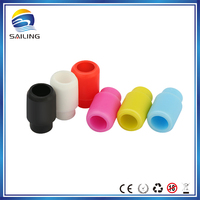 chrismas gifts rubber drip tip disposble e cig drippers silicone tips sailing