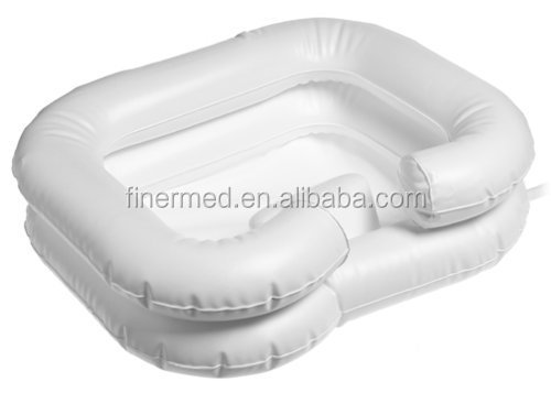 medical compact inflatable hair wash basin for disabled