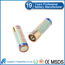 Size AA UM3 non-rechargeable r6p battery