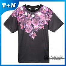 fitness sublimation custom made t-shirts for women