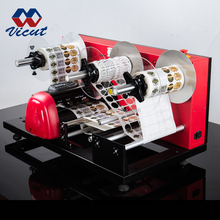 Roll to Roll Adhesive Sticker Label Laser Cutting Machine