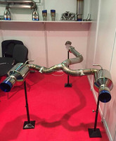 high performance fitSUBARU BRZ GT86 titanium auto car EXHAUST PIPE SYSTEM
