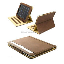 Folio Style tablet Stand Leather Cover Flip Card Holder Case for iPad Mini for iPad 2 3 4 5
