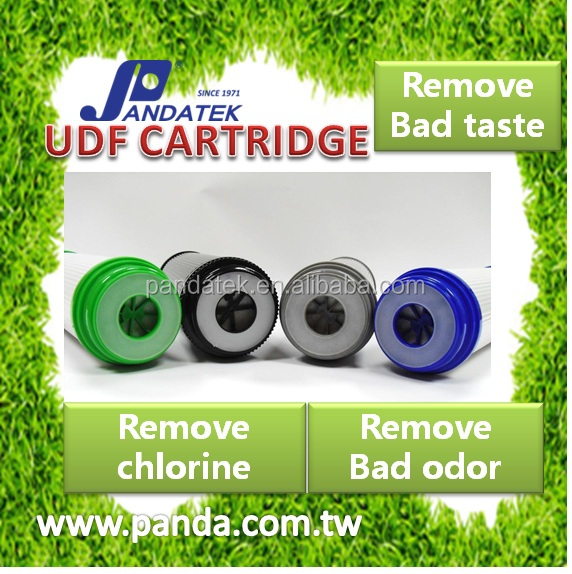 Udf and gac Water Filter Cartridge effective bad odor Water Treatment