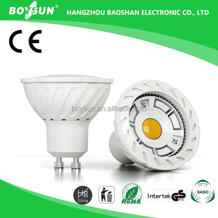 2016 Boysun / OEM Ra80 Long Lifespan COB 3W 5W 6W small led spot light