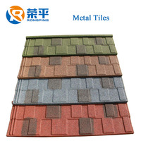 Building materials stone coated metal roofing tile steel