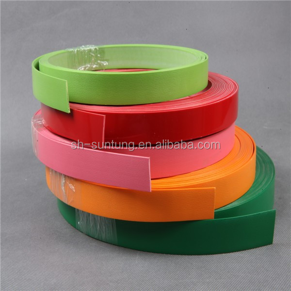 furniture accessories 2mm pvc edge banding/abs plastic roll