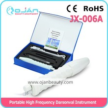Guangzhou NEW Portable derma High Frequency wand Facial Machine