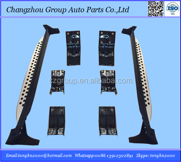 Car accessories running board for 2015 Chevrolet Captiva