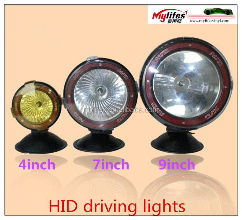 Hottest !! Jeep wrangler Jk accessories 7 inch 55w hid working light hid driving light