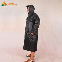Hot selling heavy duty long waterproof raincoat for motorcycle rider