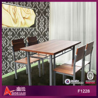 F1228 strong walnut 120*70*75cm wooden dining room furniture sets john