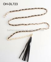 Fashion Handmade Beads Chain Belt Ladies